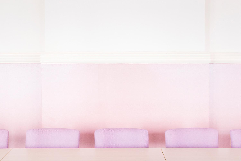 © Lina Haskel  Titel: Luleå Nya Folkets Hus, Norrbotten  Plats/Datum: Luleå, 2009 Bildmått: 48x32 cm  Teknik: Digital C-print Montering: Träram med passepartout 60x40 cm  Upplaga: 10  Signerad: Ja  Pris: SEK 5500