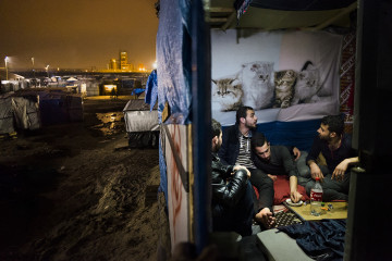 """European Jungle"", Calais © Nora Lorek"