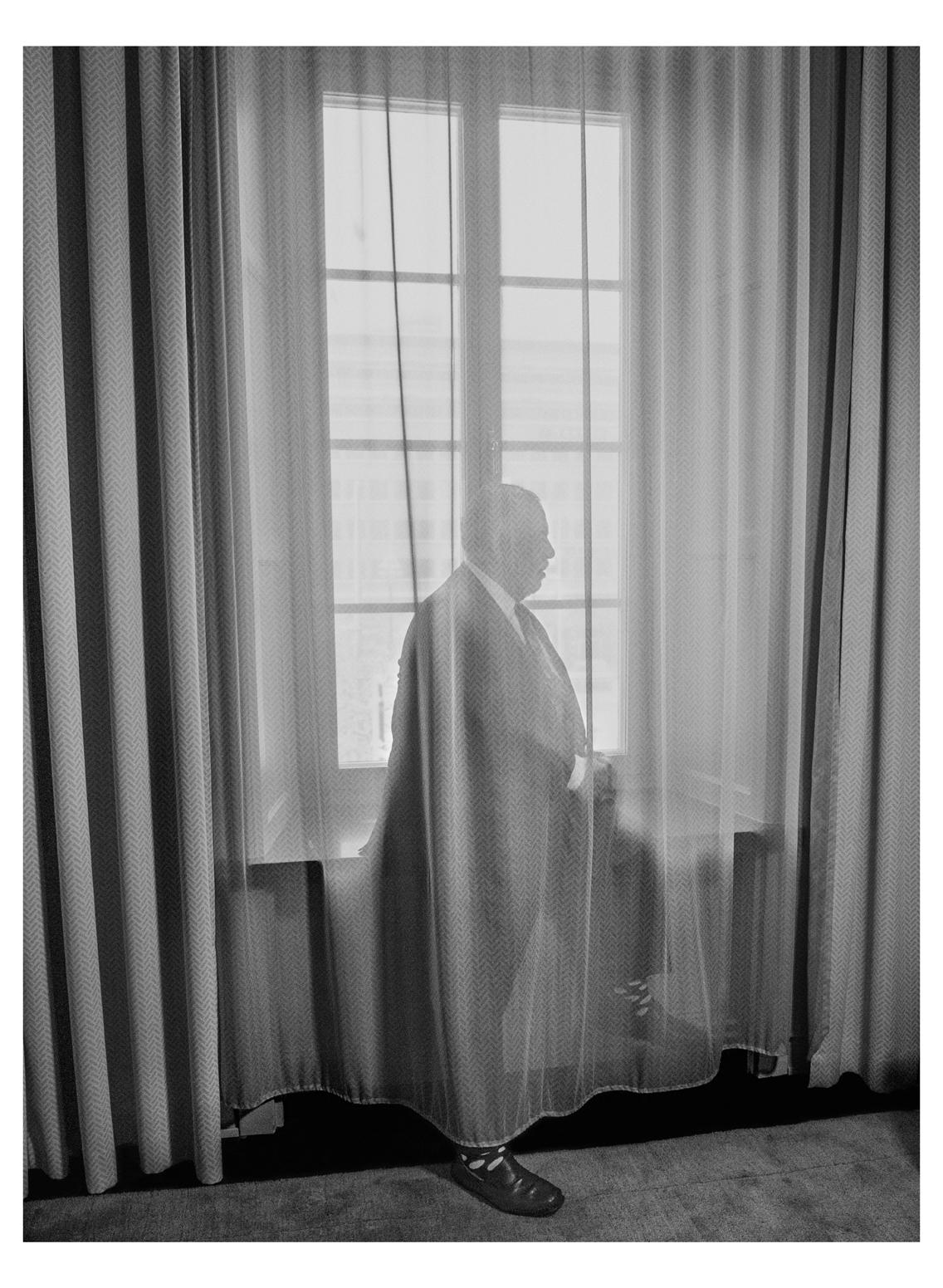 © Johan Bergmark  Titel: Francis Ford Coppola  Plats/Datum: Stockholm 2016-11-09 Bildmått: 39x52 cm  Teknik: Arkivbeständig pigmentbläckutskrift Träram med passepartout ca 58x73 cm  Upplaga: 19 Signerad: Ja  Pris: SEK 12 000