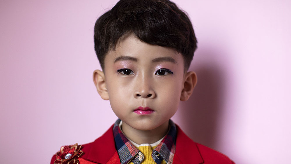 Ri Wi-Ryong, who is five years old, is one of the most promising pianists at the music school in Chongjin.   Chongjin 2019