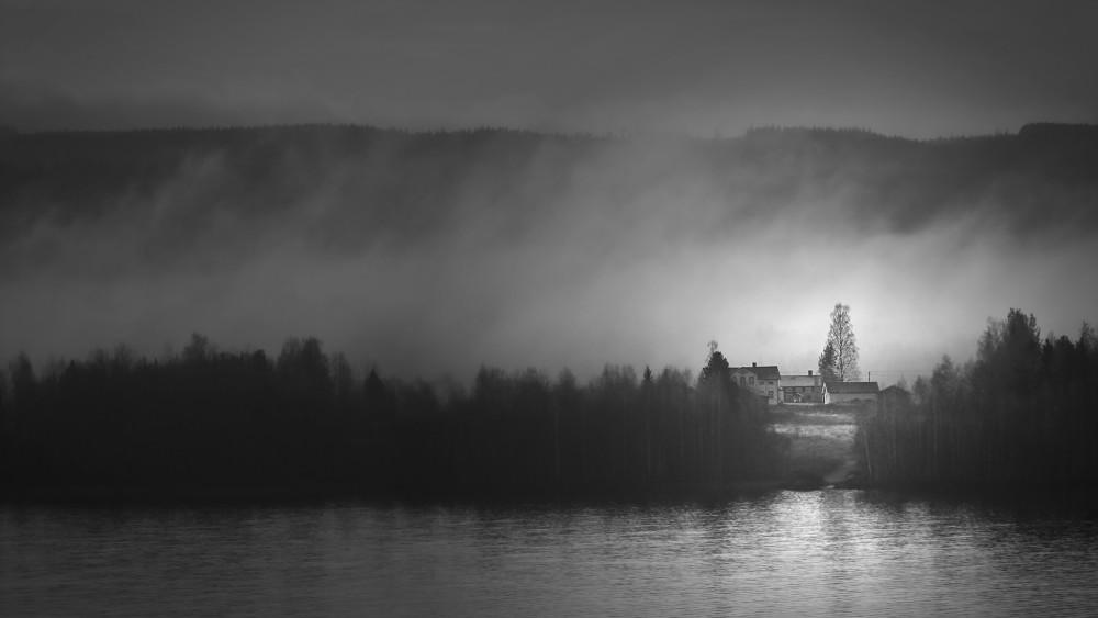 Foggy morning near Ånge - Ola Berglund - Sweden